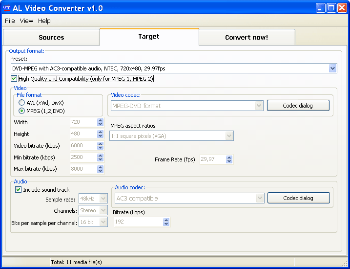 ALSoft Video Converter 1.7